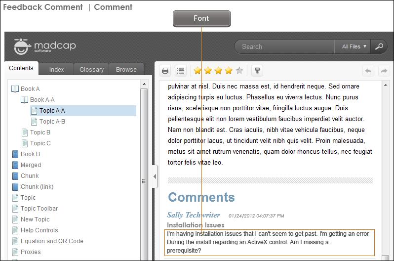 Feedback in HTML5 Skins