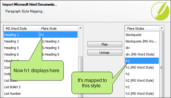 Importing Word Files