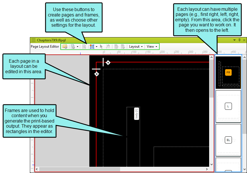 Page Layout Editor