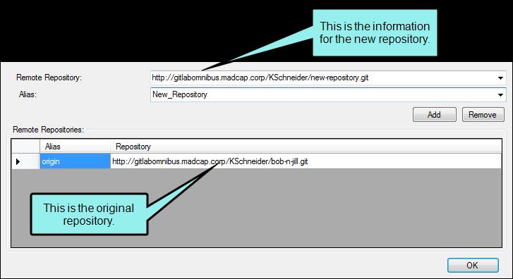 git remove remote repository
