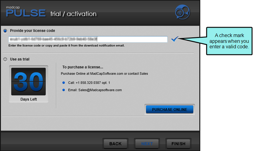 Installing and Activating Pulse