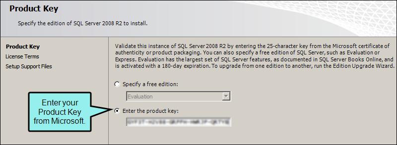 microsoft sql server 2008 r2 license key